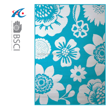 Outdoor Rugs Recycled Plastic Woven Beach Mat Carpet Lowes China Supplier Taizhou