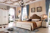 2017 Nature style wooden bedroom furniture set was made from American ash wood for bedroom furniture sets