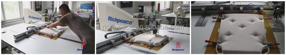The 4th Generation Automatic Sewing Machine for Cushion and Pillow
