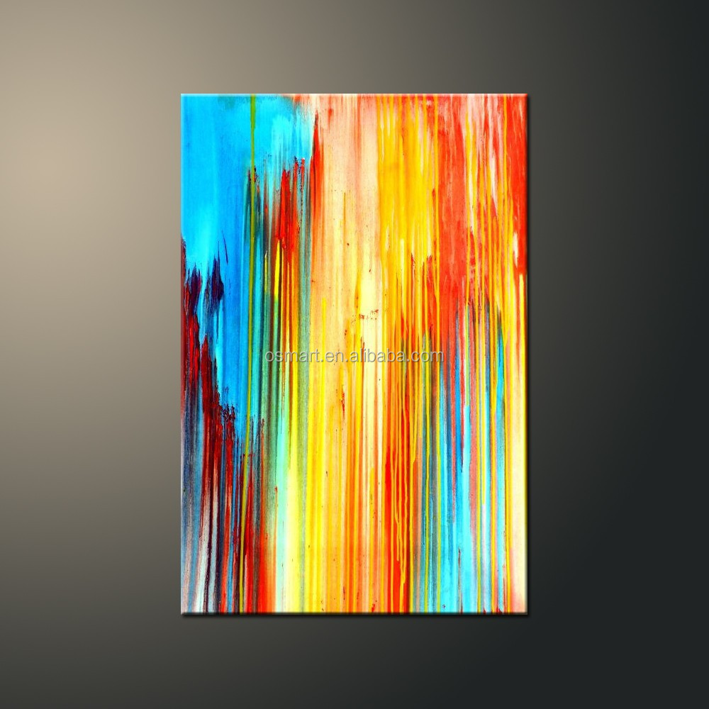 Professional Skilled Artist Handmade Abstract Colors Oil Painting On ...