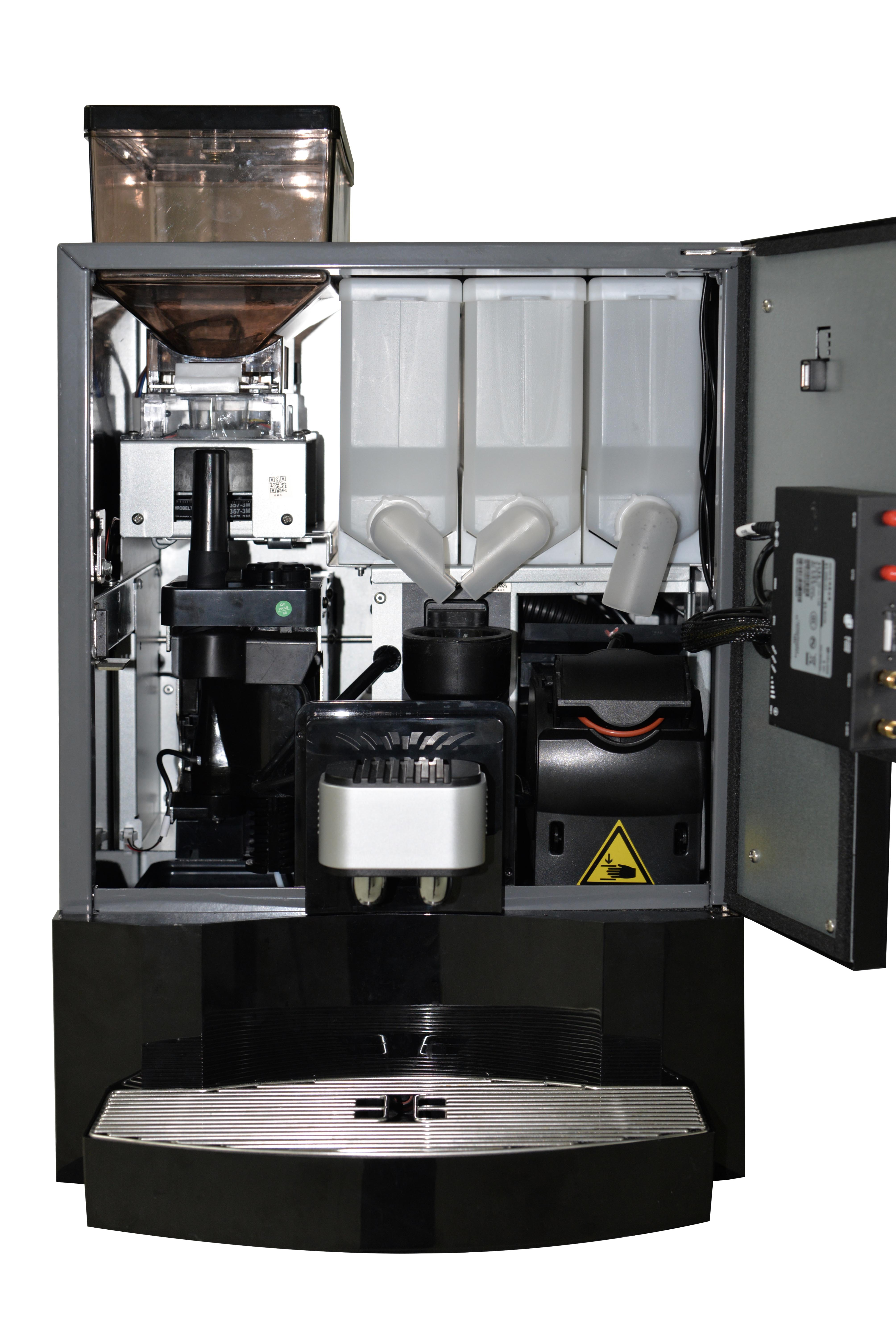 New design freshly table top coffee vending machine high quality coffee roaster machine for office
