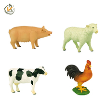 plastic cheap animal model 3d puzzle diy toys