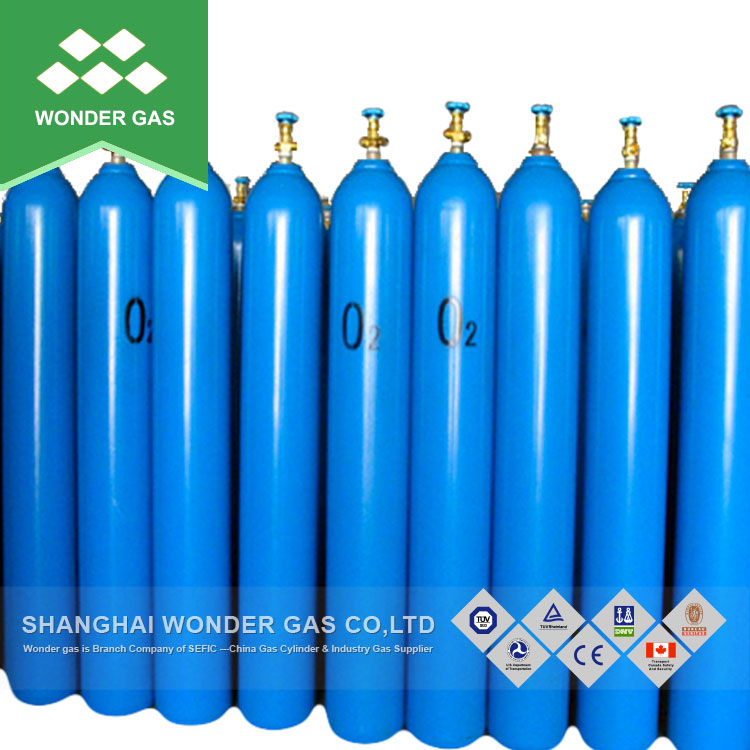 Low Price Oxygen Cylinder with QF-2 Valve for Cambodia Market, View oxygen  cylinder, SEFIC Product Details from Shanghai Wonder Gas Co , Ltd  on
