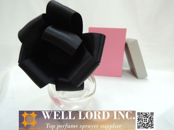 Best wedding surprise black bulb perfume sprayer bottle
