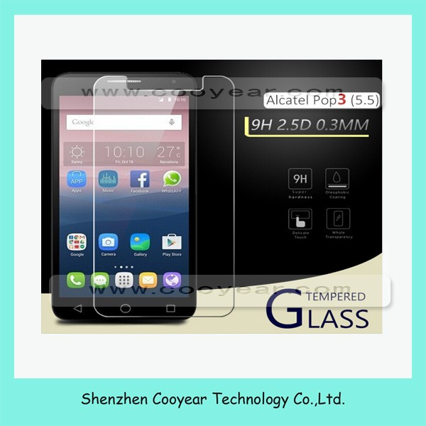 For Alcatel Stellar Tru 9H ShockProof Tempered Glass Screen Protector Film Guard