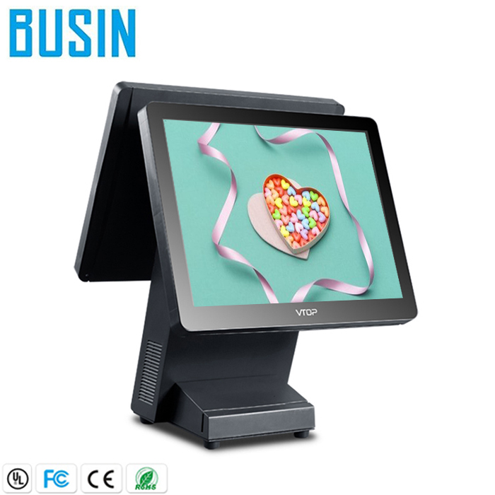 Best Quality chip card reader pos system with pos printer 80mm