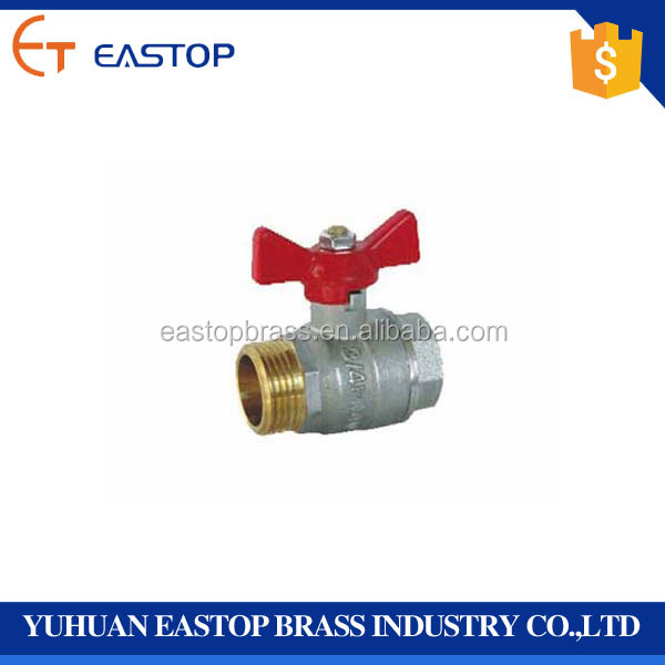 Hot Sale Air Female/ Male Full Ports Brass Custom Made Size Water Ball Valve