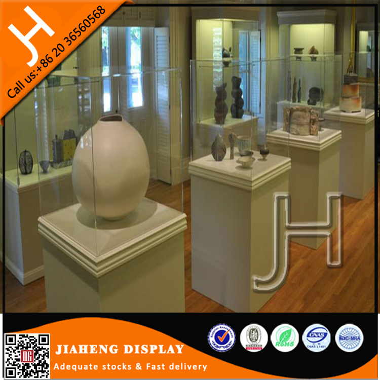 High End Quality Glass Materials Used Museum Interior Design