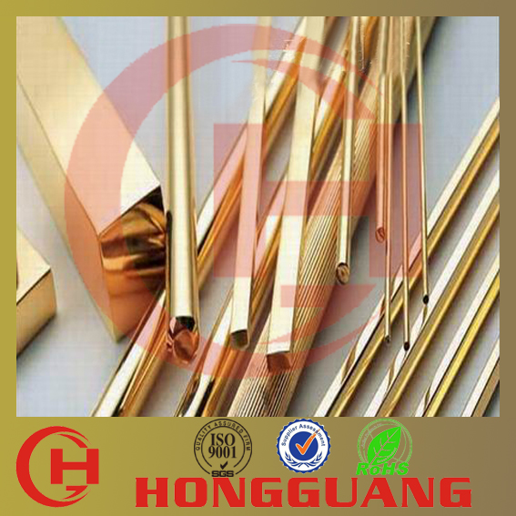 Hot selling High tensile round brass bar