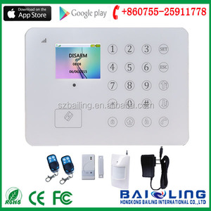 Home security gate opener prevent theft remote access relay control with android app home security system