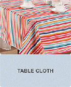 New Style Popular Color Fabric Painting Designs on Table Cloth