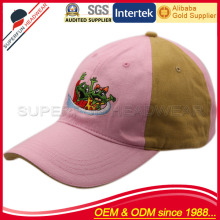 Professional supplier children pink baseball cap hats