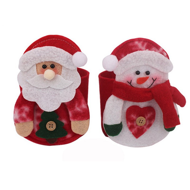 Christmas Santa Table Decor Napkin Holder for Christmas Hotel table decoration