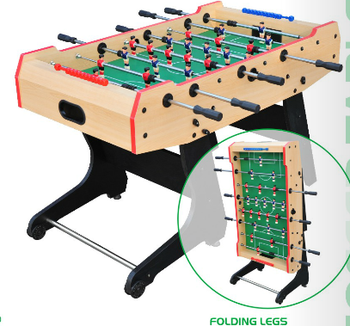 Portable Folding Foosball Table