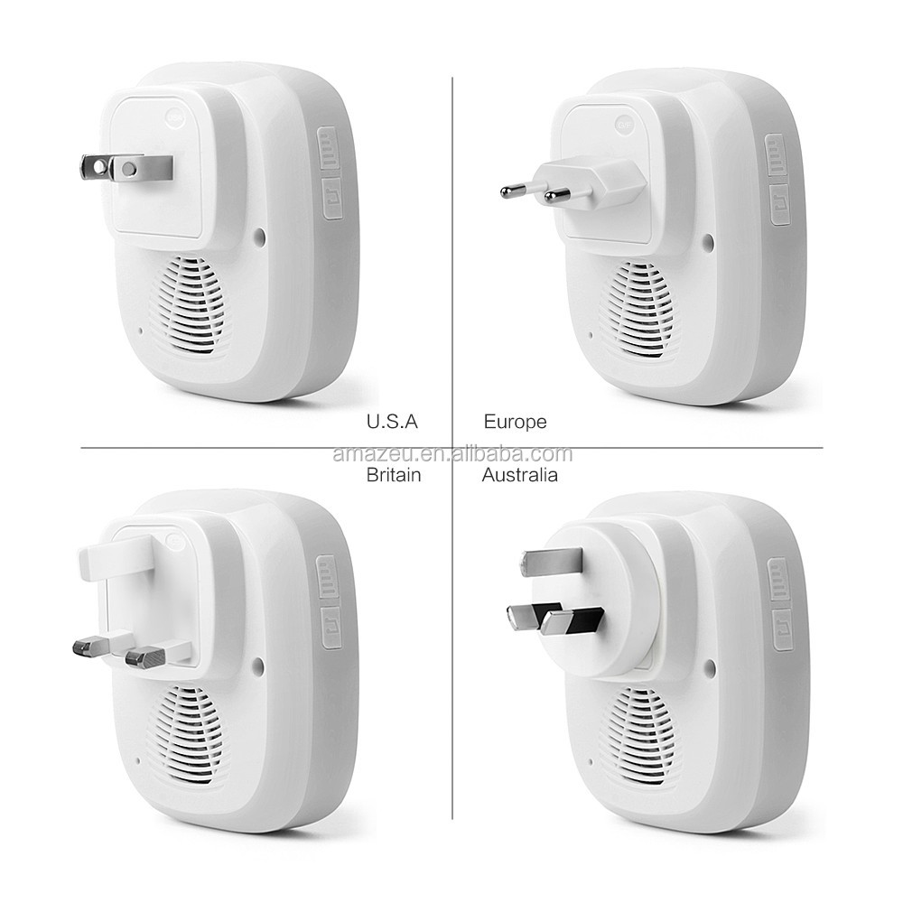 Amazon bestsell sans fil sonnette usine prix sonnette avec - Sonnette sans fil longue portee ...