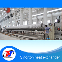 New stainless steel Coil wound heat exchanger