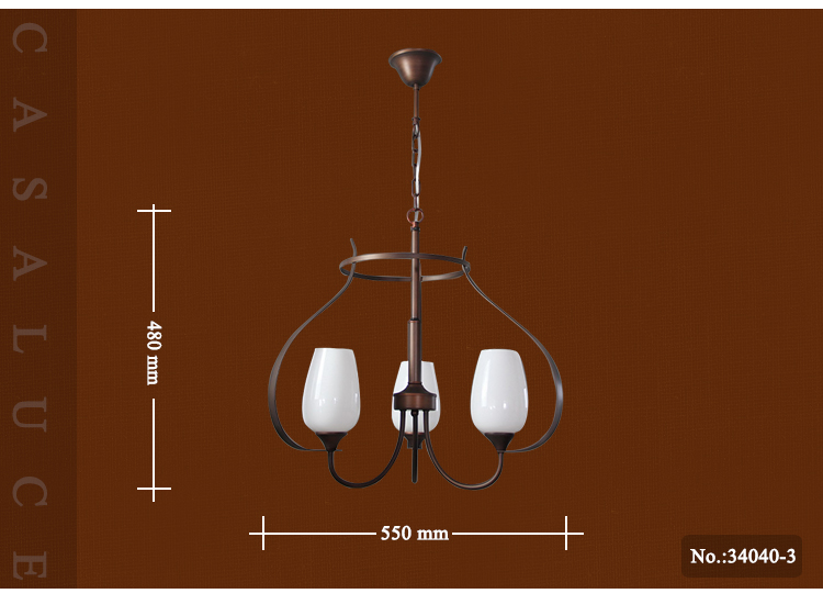 Hot sale manufactured cheap price homes glass lampshades bronze antique brass copper chandelier