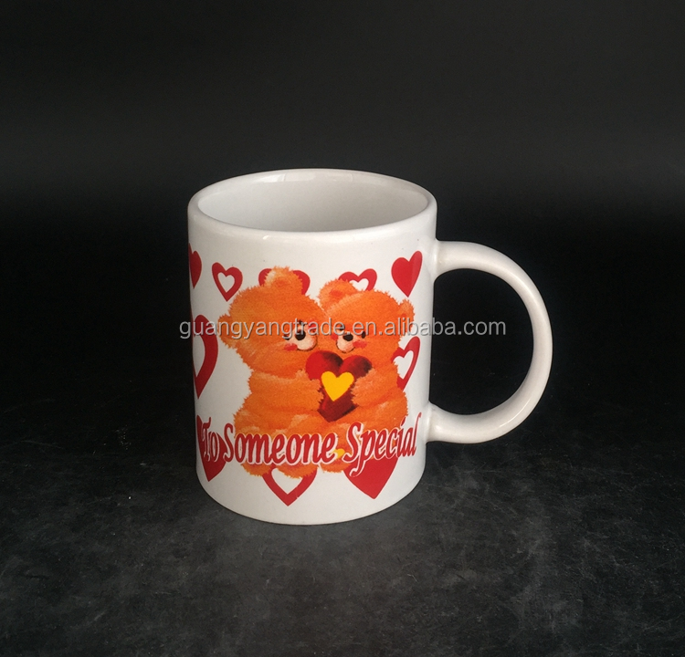Hot selling special design promotional office ceramic mug from manufacturer