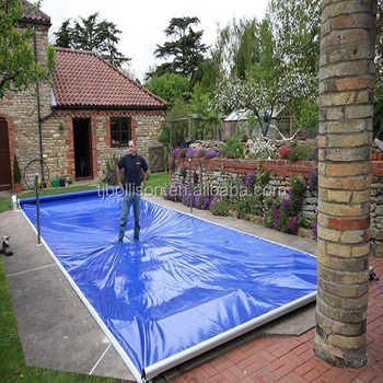 how to make a pool with a tarp