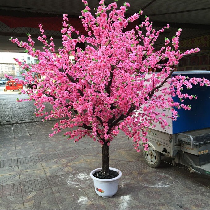 Cheap artificial cherry blossom tree silk cherry blossom for Cheap trees