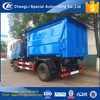 CLW heavy duty garbage box unloadable arm roll garbage truck equipped with 12cbm big rubbish box