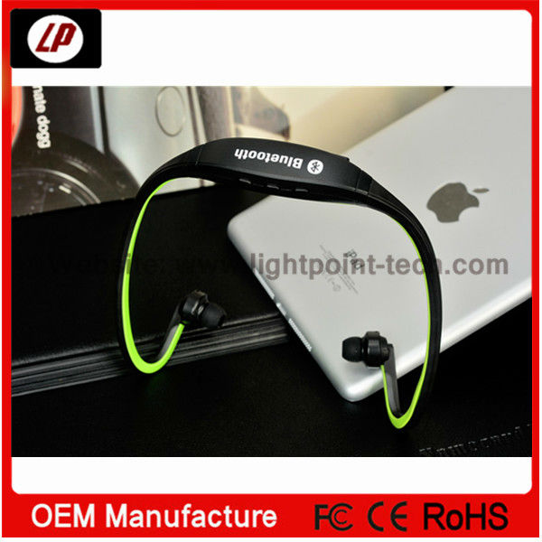 Wireless Stereo bluetooth headset with mp3 player, Factory direct sell bluetooth headphone
