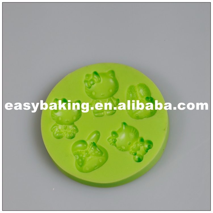 Hello Kitty Fondant Silicone Mould for Cake Decoration ES-1307