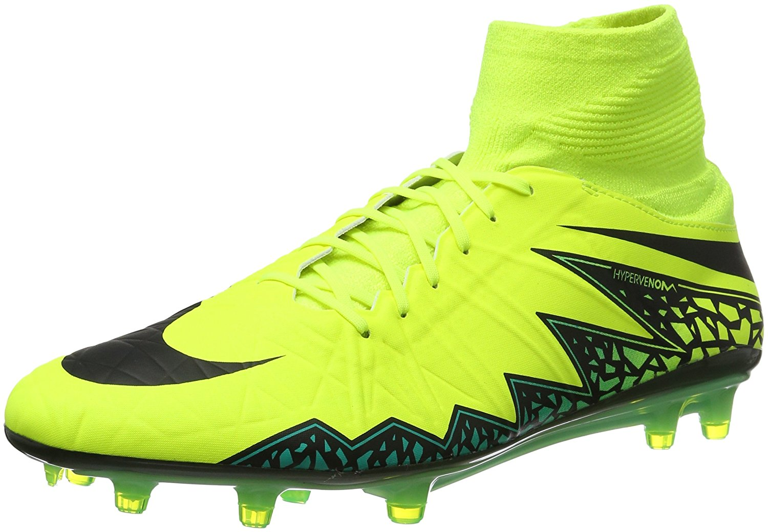 37edfc69161c Get Quotations · Nike Hypervenom Phatal II Dynamic Fit Firm Ground Cleats