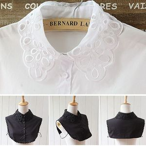 Fashion New Spring Summer Cute Blouse Fake Collar Shirt Detachable Cotton Fake Collars for Women