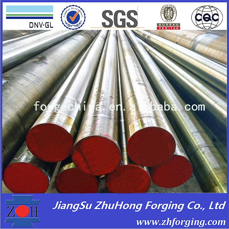 Forged alloy steel 42Crmo4 tool steel round bars