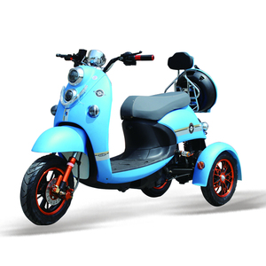 Electric tricycle adults 3 wheels electric scooter motorcycle vehicles