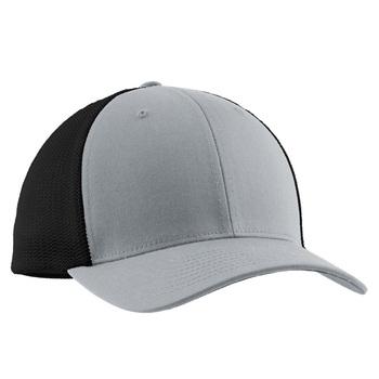 d30755551ee 2-tone Flexfit Mesh Back Baseball Hat 100% Polyester Blank Dad Hats ...