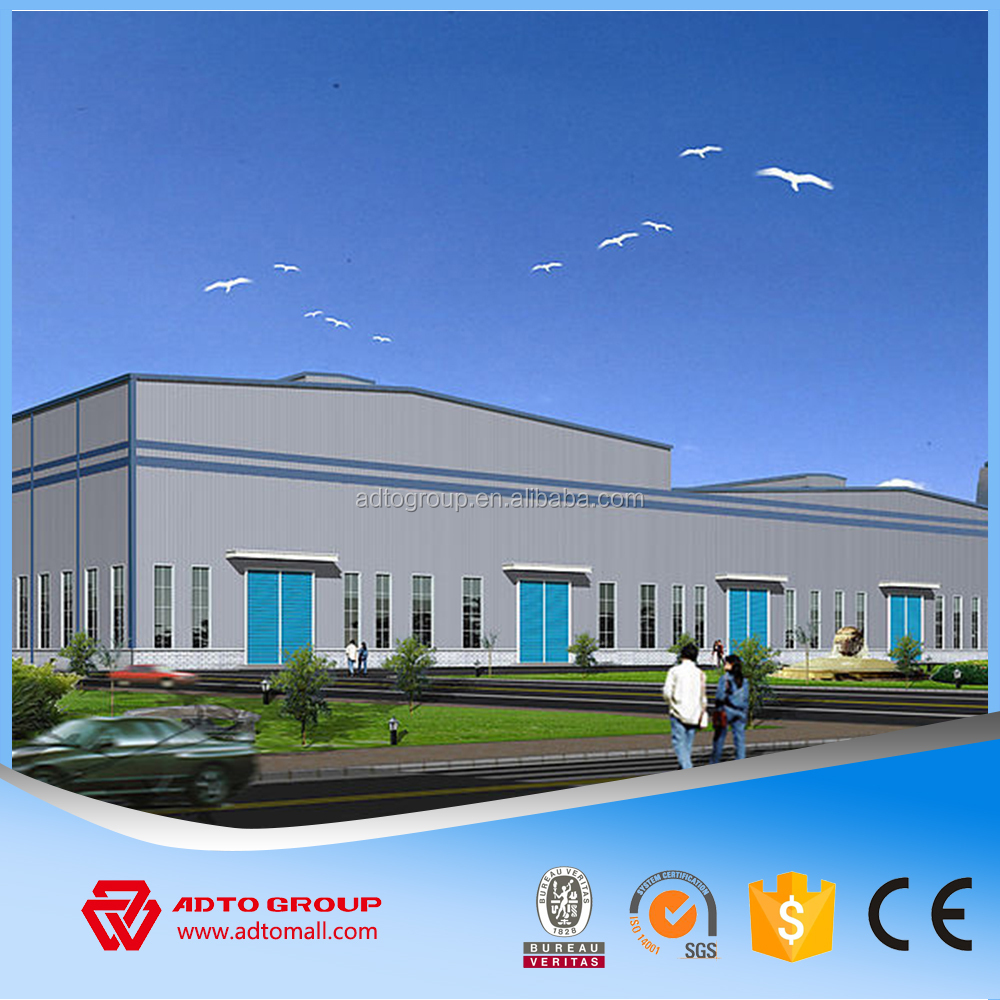 Precision welded low cost housing solutions prefab steel warehouse structure