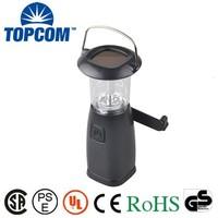 Rechargeable Plastic LED Solar Hand Cranking Dynamo Lantern