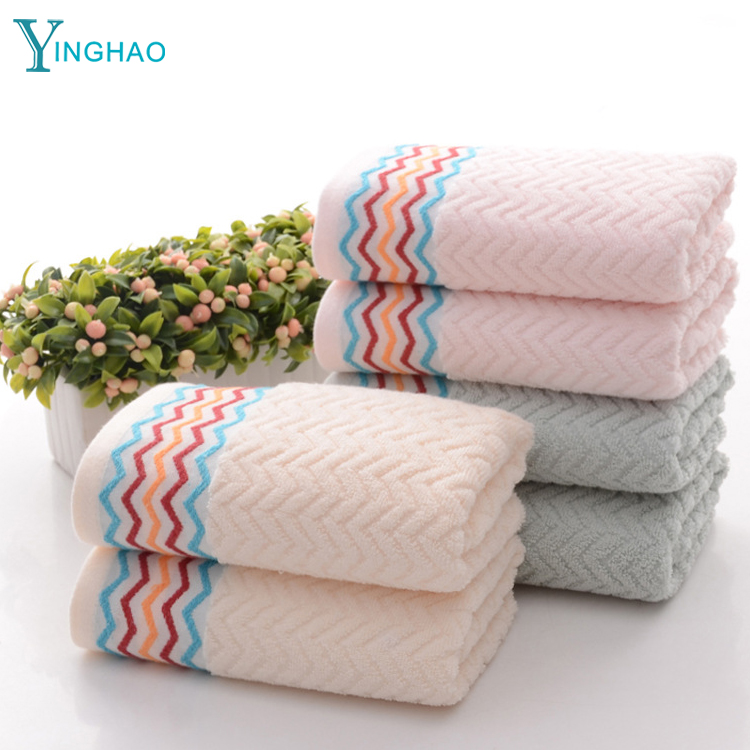 Wholesale <strong>cotton</strong> imports 32 shares absorbent towel water ripples jacquard ribbons towels <strong>cotton</strong> gifts advertising towels
