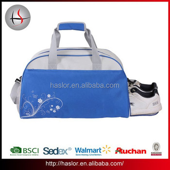 3021c68af487 Fashion Outdoor Convenient Travel Small Gym Bag With Shoe Compartment