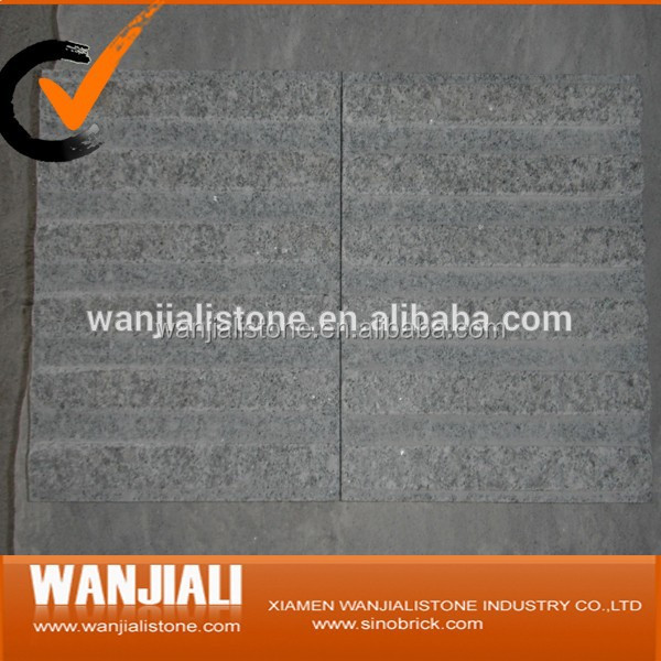 G603 Flamed & Polished Granite Paving Stone& Kurbstone