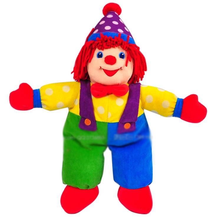 Oem Custom Stuffed Plush Clown Doll - Buy Plush Clown Doll ...