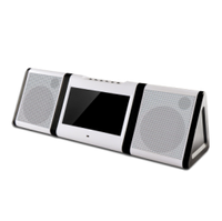10.1 inch Android Portable Karaoke Player With Battery Built In Wifi VHF Wireless Mics