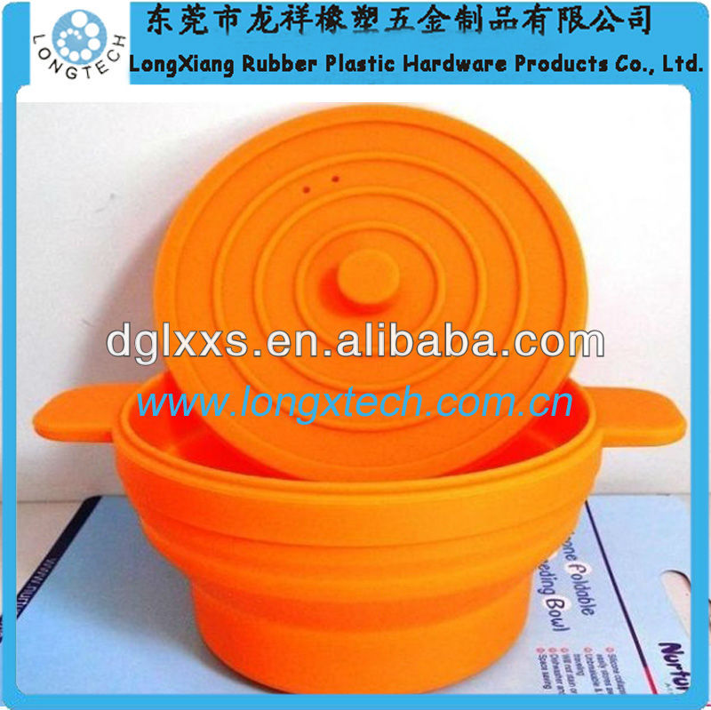 personalized design silicone dog bowl rubber ring