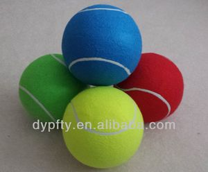 inflatable TB-8.5 inch jumbo tennis ball with logo printed