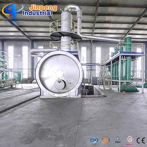 Jinpeng Waste Oil Refining Plant / Crude Oil Distillation Machine