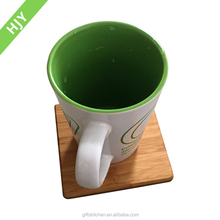 High quality customized bamboo coasters /cup pad