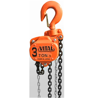 3 ton vital chain hoist block and tackle japan chain block 20 ton
