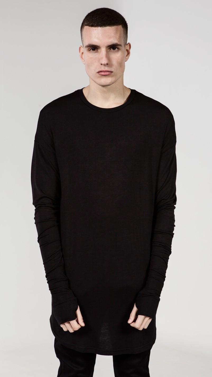 Hot Selling Western Style Stylish T-shirt Custom Print Long Line T ...