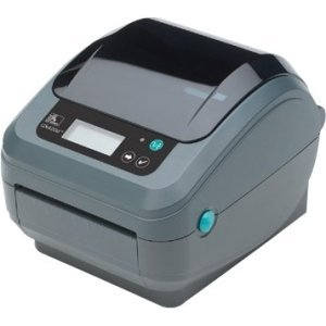 Zebra Technologies GK42-102580-000 Series GK420 Thermal Transfer Healthcare Printer, 203 DPI, EPL and ZPL Programming Language, USB, Serial, Centronics Parallel, 6' USB Cable