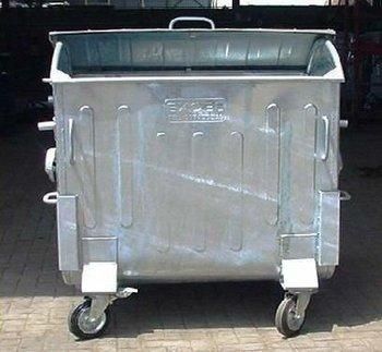 Steel Trash Bin 1100 L