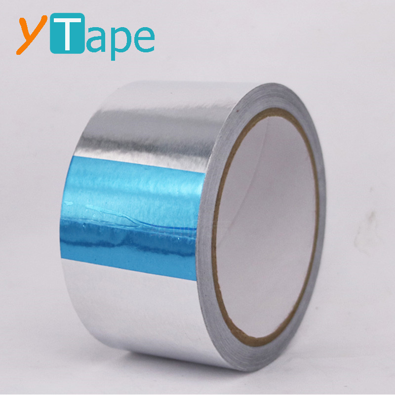 Aluminum Foil Tape Laminated with PET Mylar Film Polymer Excellent For Metal Repairs