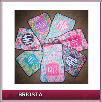 monogram lilly pulitzer car mats buy lilly pulitzer car mats product on. Black Bedroom Furniture Sets. Home Design Ideas