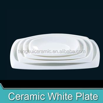Rectangle China Dinnerware Long Dish Ceramic Type Rectangular Dinner Plates HYS0081  sc 1 st  Alibaba & Rectangle China Dinnerware Long Dish Ceramic Type Rectangular Dinner ...